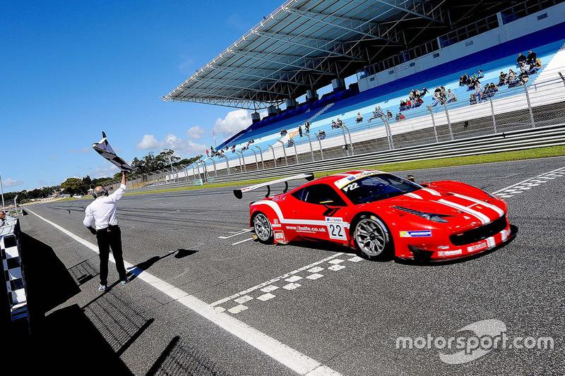 1. Shaun Balfe, Philip Keen, Ferrari 458 Italia GT3