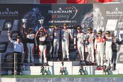 Podium: winners #33 Belgian Audi Club Team WRT Audi R8 LMS: Enzo Ide, Christopher Mies, second place #88 AKKA ASP Mercedes AMG GT3: Tristan Vautier, Felix Rosenqvist, third place #1 Belgian Audi Club Team WRT Audi R8 LMS: Frederic Vervisch, Laurens Vanthoor