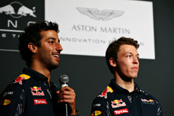 Daniel Ricciardo und Daniil Kvyat, Red Bull Racing