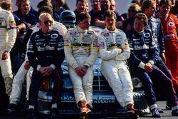 Kurt Thiim, Fritz Kreutzpointner, Michael Schumacher, Klaus Ludwig