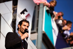 Mark Webber, Porsche Team WEC Driver and Channel 4 Presenter