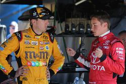 Christopher Bell, Kyle Busch Motorsports Toyota with Kyle Busch