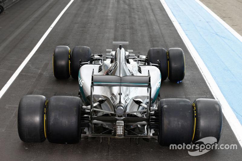 Vergleich: Formel-1-Reifen 2016 und 2017