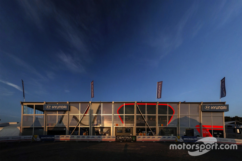 Servicepark: Hyundai Motorsport