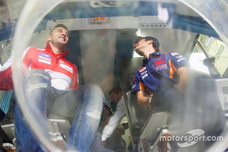 Andrea Iannone, Ducati Team, Dani Pedrosa, Repsol Honda Team