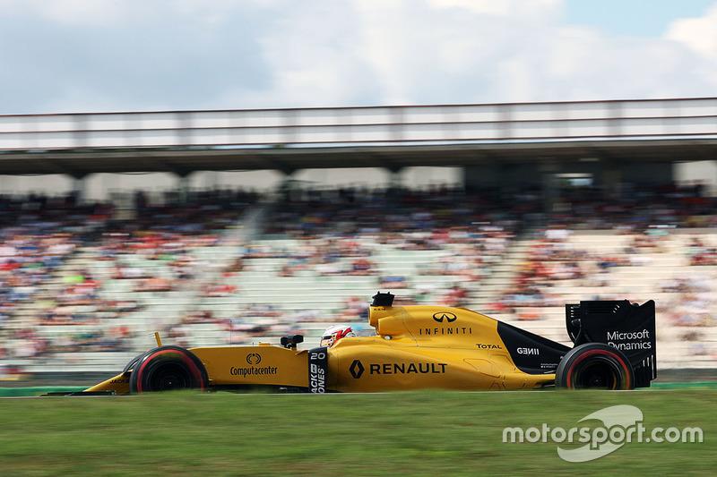 16: Kevin Magnussen, Renault Sport F1 Team RS16