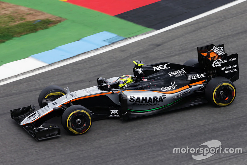 8. Sergio Perez, Sahara Force India