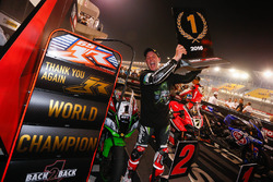 Jonathan Rea, Kawasaki Racing celebrate his championship