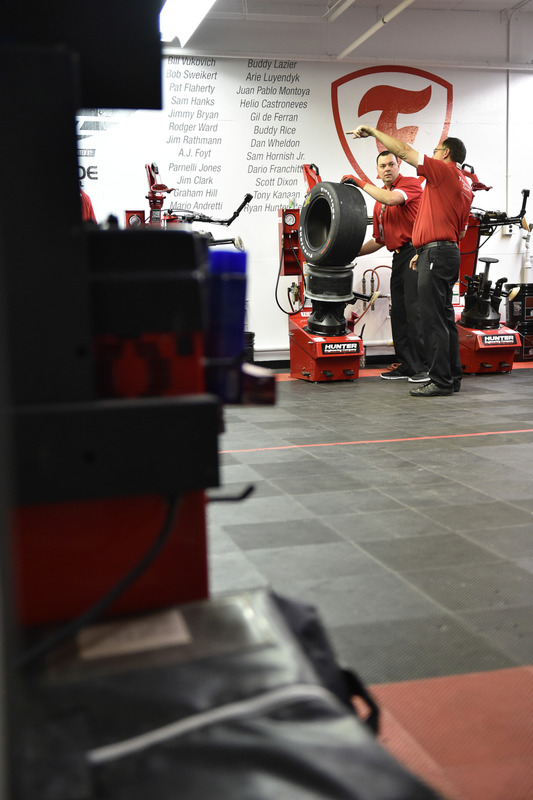 Firestone tires technician