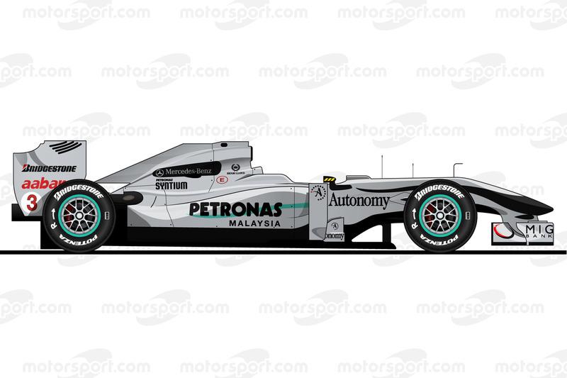 Michael Schumacher, Mercedes W01, 2010