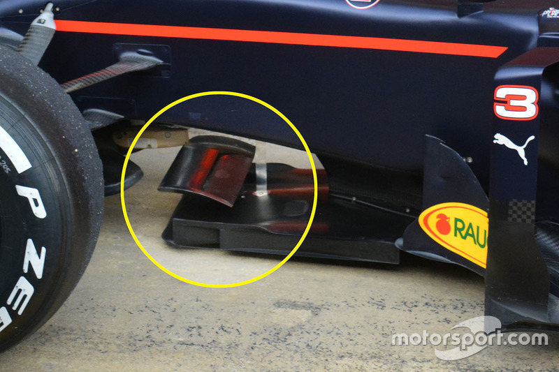 Red Bull Racing RB12, Detail