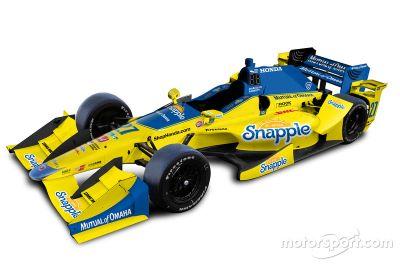 Presentación Andretti Autosport livery