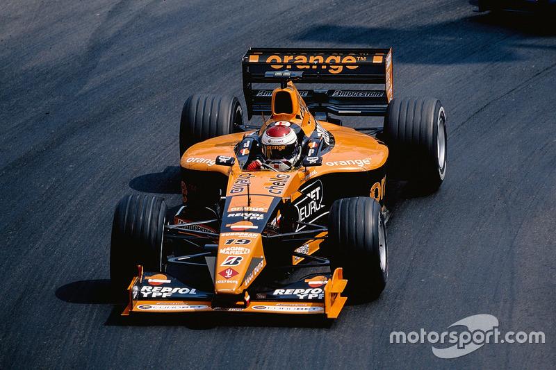 2000 – Формула 1, Arrows Supertec, 12 місце