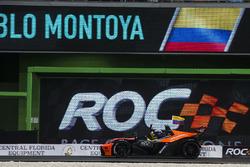 Champion of Champions Juan Pablo Montoya, celebrates his win