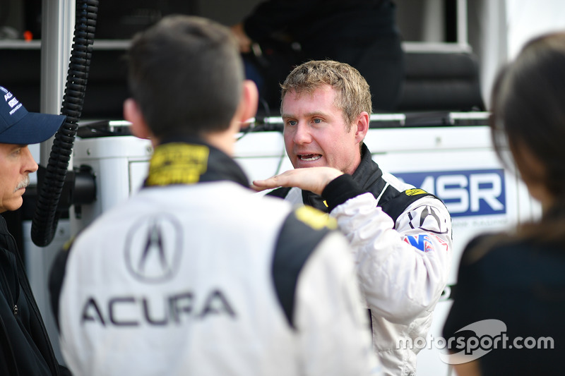 Andy Lally, Mark Wilkins, Michael Shank Racing