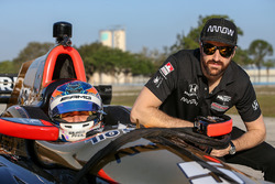 Robert Wickens et James Hinchcliffe