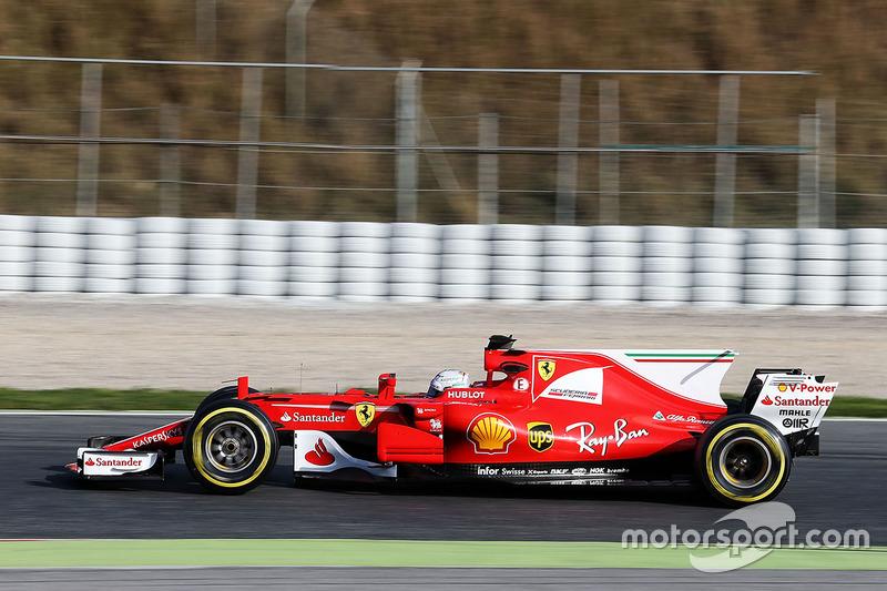 2017: Джина, Ferrari SF70-H