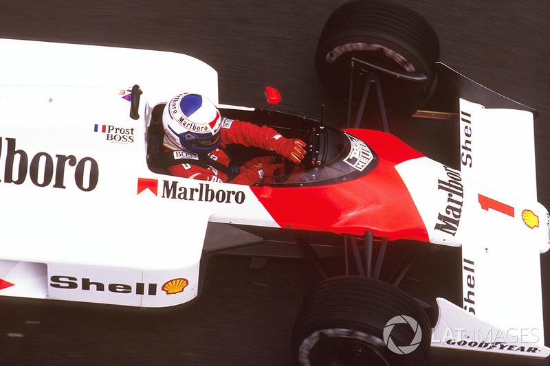Apesar de não disputar o título, Prost se tornou recordista de vitórias em 1987. No GP de Portugal ele se aproveitou de uma rodada do líder Gerhard Berger e venceu a 28ª prova da carreira, superando as 27 de Jackie Stewart.