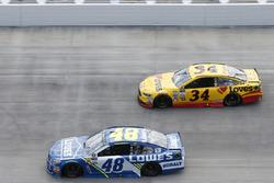 Jimmie Johnson, Hendrick Motorsports, Chevrolet: Landon Cassill, Front Row Motorsports, Ford
