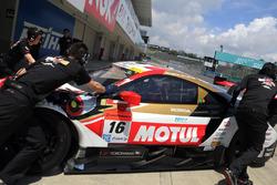 ジェンソン・バトン(Jenson Button #16 MOTUL MUGEN NSX-GT)