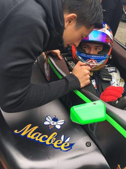Rio Haryanto dengan Iori Kimura, PS Racing