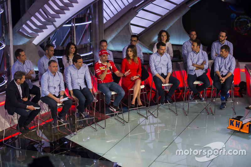 Presentación Movistar F1 temporada 2017