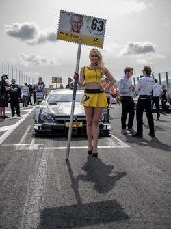 Gridgirl, Maro Engel, Mercedes-AMG Team HWA, Mercedes-AMG C63 DTM
