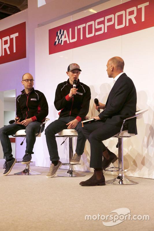 Elfyn Evans, Daniel Barritt, DMACK World Rally Team con Toby Moody