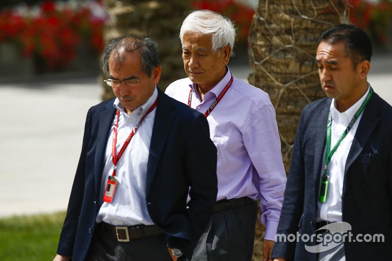Takahiro Hachigo, CEO, Honda