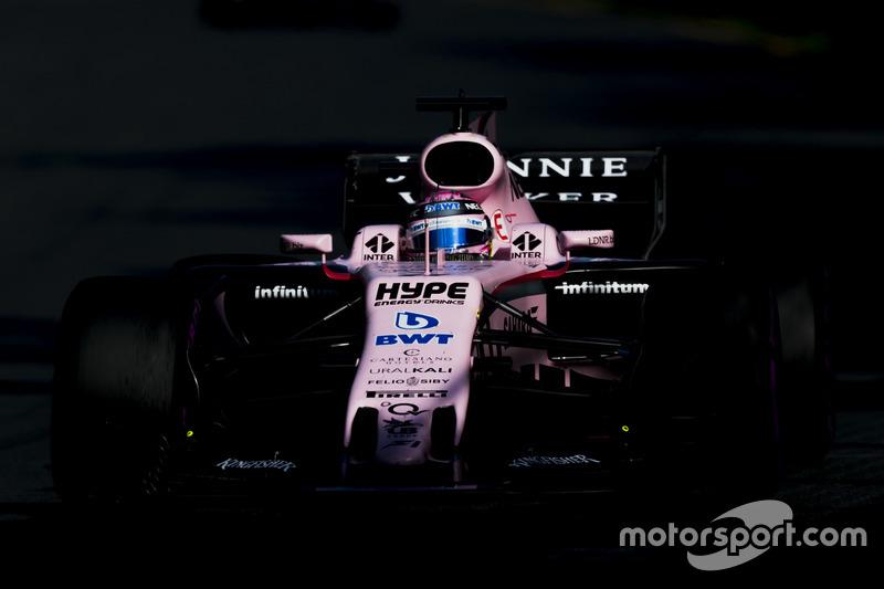 6. Sergio Pérez, Force India VJM10