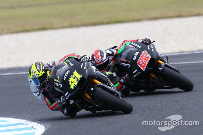 Aleix Espargaro, Aprilia Racing Team Gresini, Sam Lowes, Aprilia Racing Team Gresini