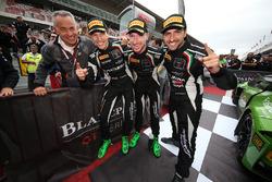 Campeones 2017 #63 GRT Grasser Racing Team Lamborghini Huracan GT3: Christian Engelhart, Mirko Borto