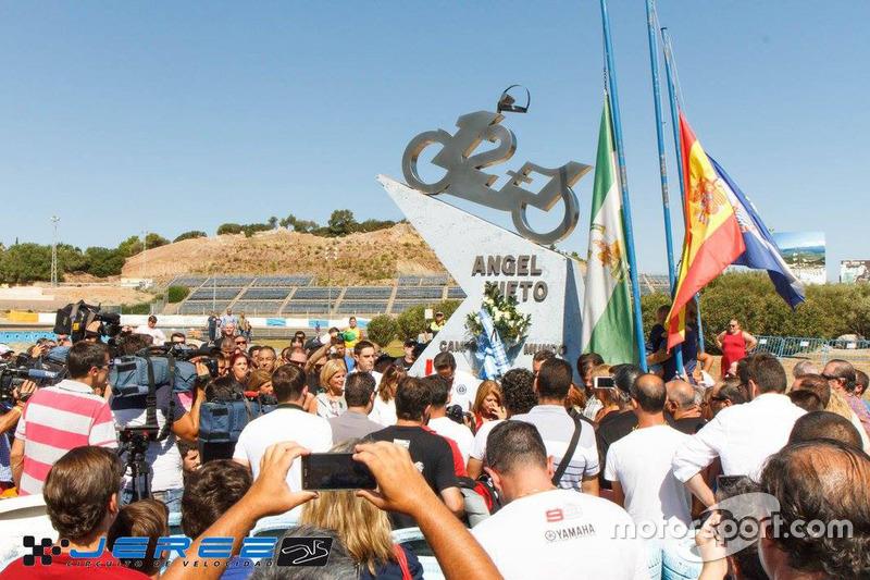 Homenaje a Angel Nieto en Jerez