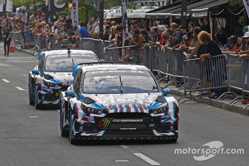 Кен Блок, Andreas Bakkerud, Hoonigan Racing Division Ford