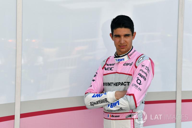 #31 Esteban Ocon, Sahara Force India F1  (Contrato hasta final de 2018)