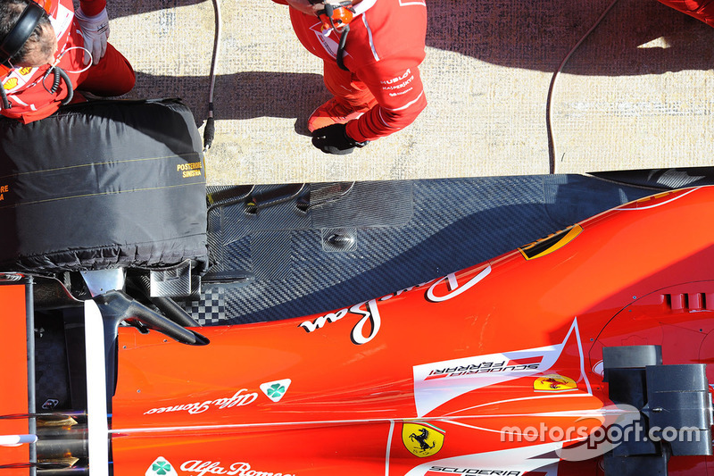 Ferrari SF70H: Heck, Detail