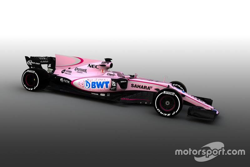 Force India VJM10 (2017)