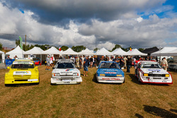 Historische Rallycross-Autos