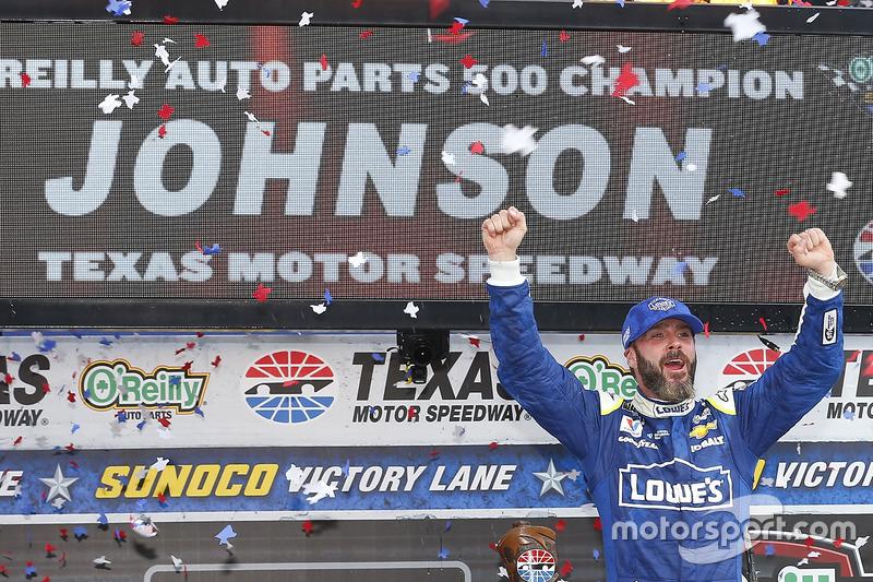 Fort Worth (Texas): Jimmie Johnson (Hendrick-Chevrolet)