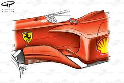 Ferrari F2001 (652) 2001 sidepod update