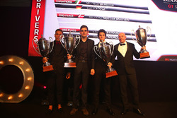 2016 Sprint Cup Silver Cup drivers, Nicolaj Moller Madsen, Luca Stolz, Michele Beretta
