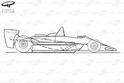 Lotus 80 1979 schematic side view