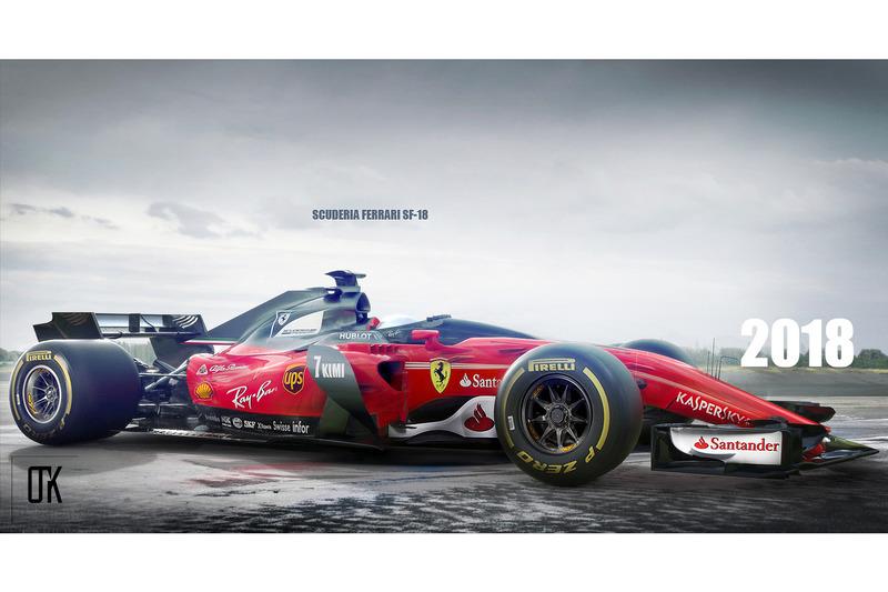 Ferrari 2018, shield, konsept tasarım