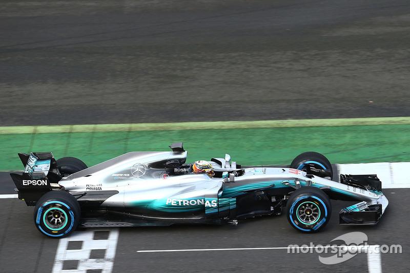 Lewis Hamilton, Mercedes AMG F1 W08 Hybrid