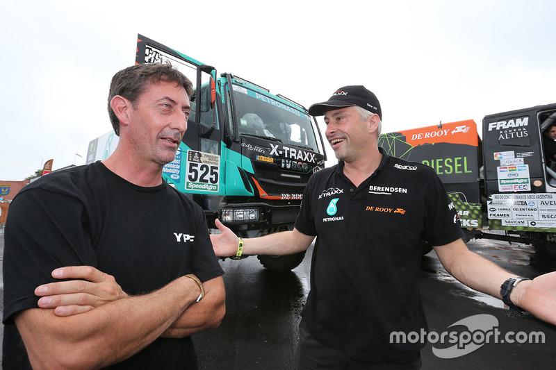 #525 Team De Rooy Iveco: Wulfert van Ginkel, Bert van Donkelaar, Erik Kofman