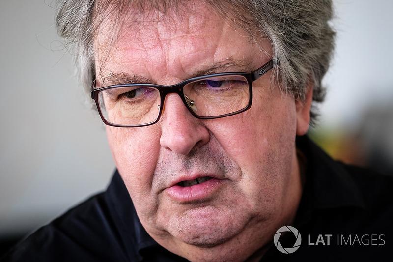 Nigel Beresford, Dragon Racing director de tecnología