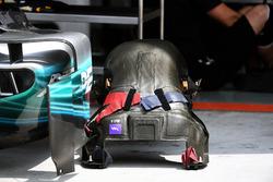 Mercedes-Benz F1 W08 : baquet