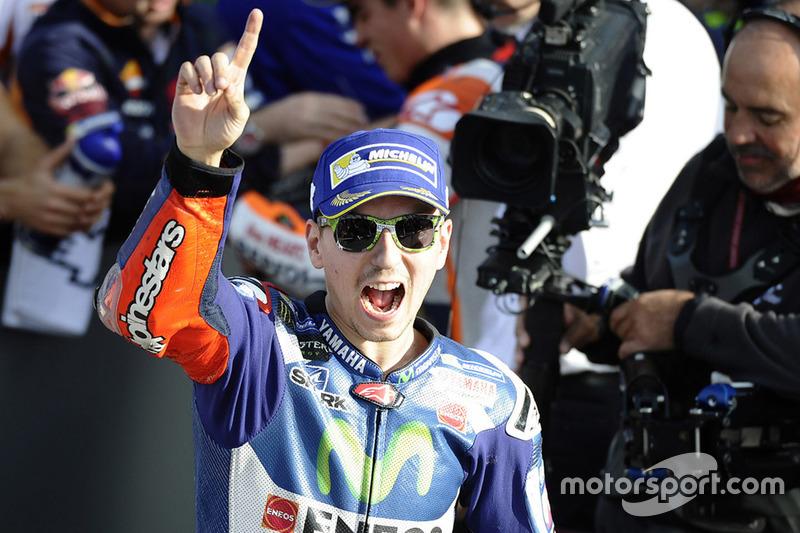 Polesitter: Jorge Lorenzo, Yamaha Factory Racing
