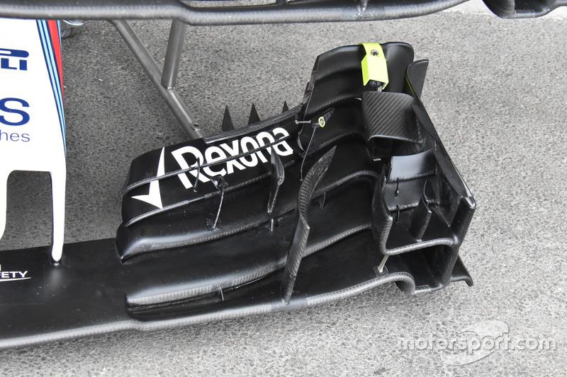 الجناح الأمامي لسيارة ويليامز