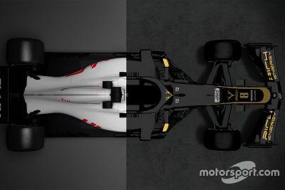 Haas VF-18 vs Haas VF-19